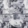 Москва Сити чёрно-белый