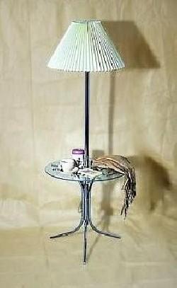 Столик журнальный с лампой 80187