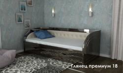 """""""Глянец Премиум 18"""" глянцевая кровать"""