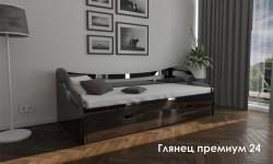 """""""Глянец Премиум 24"""" глянцевая кровать"""