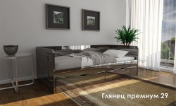 """""""Глянец Премиум 29"""" глянцевая кровать"""